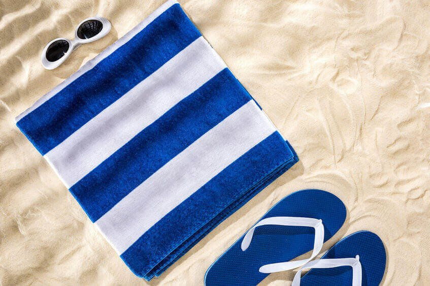Embroider Your Name on Beach Towels