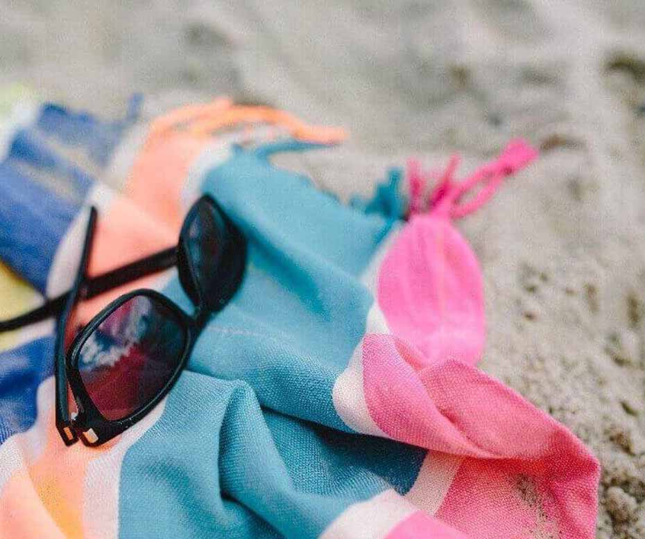 Sand Free Microfiber Beach Towels for Summer
